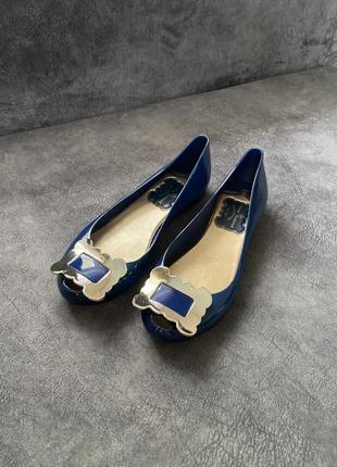 Силиконовые резиновые туфли балетки лодочки vivienne westwood7 фото