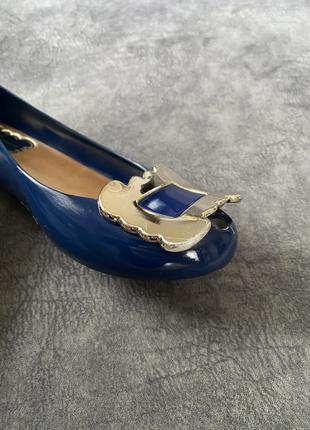 Силиконовые резиновые туфли балетки лодочки vivienne westwood6 фото
