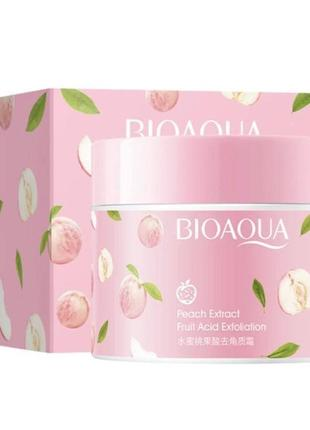 Пилинг , скраб для лица bioaqua peach fruit acid exfoliating с экстрактом персика