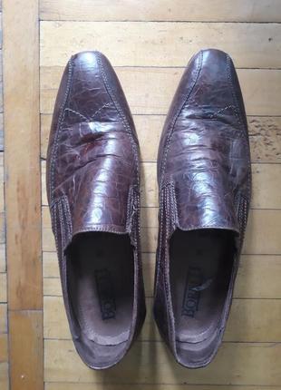 Шкіряні туфлі,borell