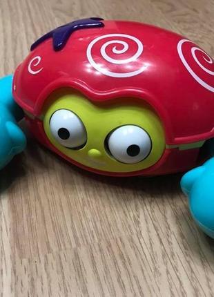 Музыкальная игрушка краб ползает early learning centre
