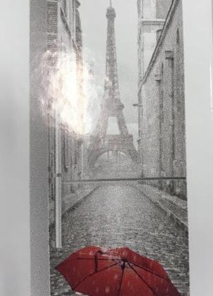 Наклейка на холодильник «париж»
