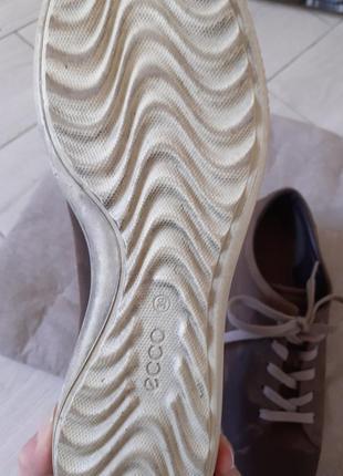 Туфлі черевики ecco7 фото