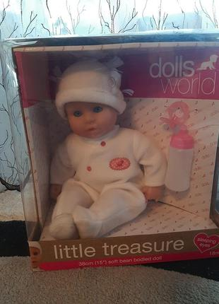 Кукла -пупс новая