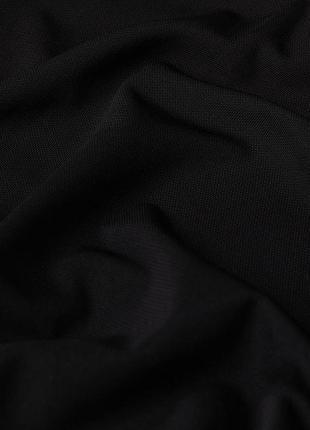 Черный топ на бретелях майка в бельевом стиле h&m8 фото