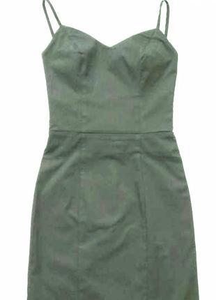 Платье на бретелях / платье с открытой спиной