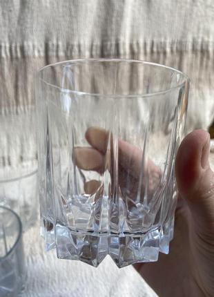 Скляні стакани 3 шт
