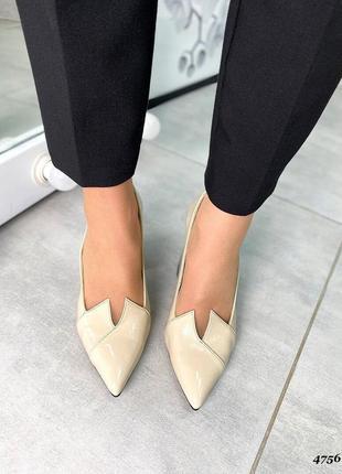 Новинка туфельки натуральная  лаковая кожа ❤🔥💥7 фото