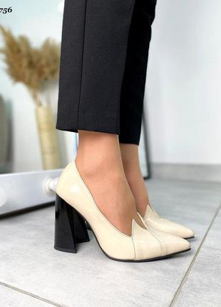 Новинка туфельки натуральная  лаковая кожа ❤🔥💥6 фото