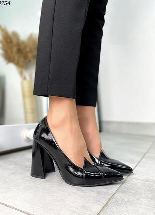 Новинка туфельки натуральная  лаковая кожа ❤🔥💥5 фото