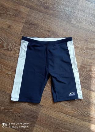 Плавки спортивные шорты детские для плавания бассейна