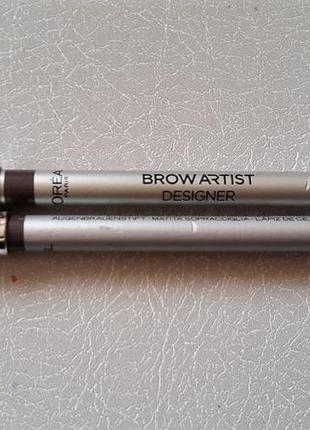 Карандаш для бровей brow artist desinger loreal