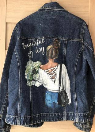 Джинсовая куртка,джинсовка5 фото