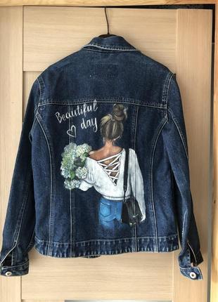 Джинсовая куртка,джинсовка6 фото