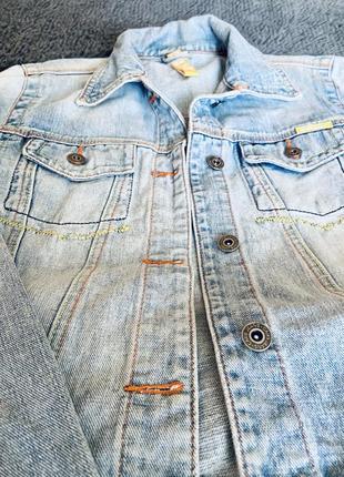 Джинсовая куртка, джинсовый пиджак2 фото
