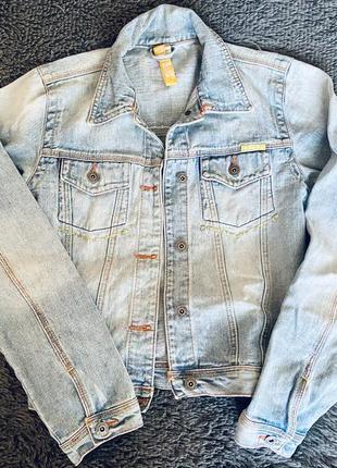 Джинсовая куртка, джинсовый пиджак1 фото