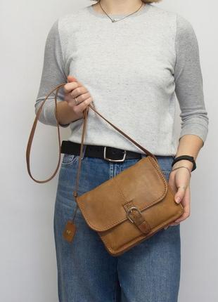Кожаная сумка radley, кроссбоди, натуральная кожа