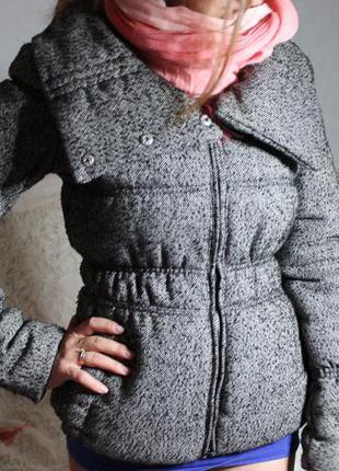 Куртка серая fornarina осень-зима