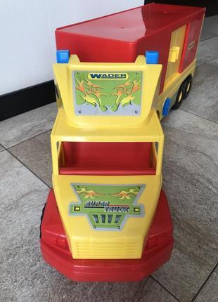 Игрушка фургон wader super truck вадер супер трак