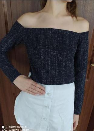 Блузка блуза кофта кофточка на плечи