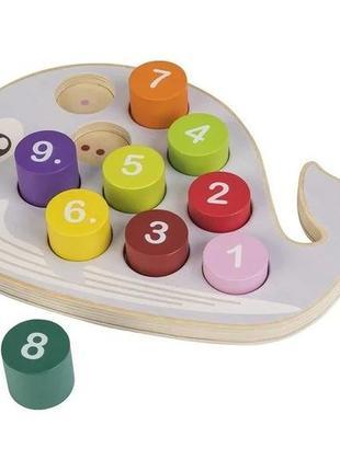 Развивающий игровой набор вкладыш-головоломка кит playtive.