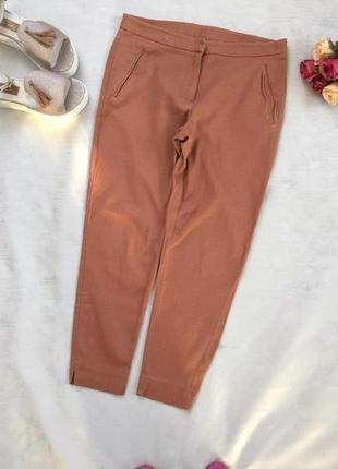 Стильные модные брюки натуральная ткань/ бренд new look