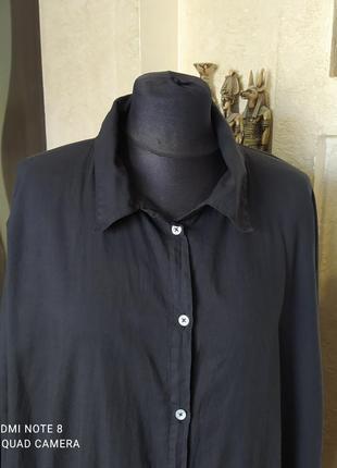 Длинная рубашка в стиле rundholz black by kim2 фото
