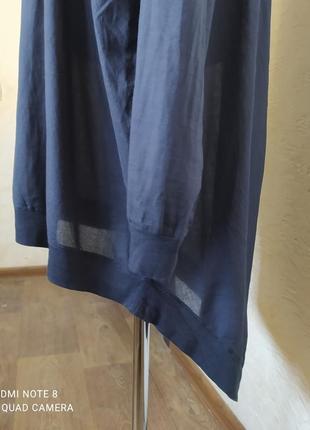 Длинная рубашка в стиле rundholz black by kim5 фото