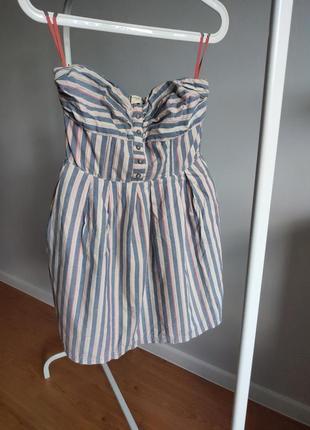 Платье бюстье bershka