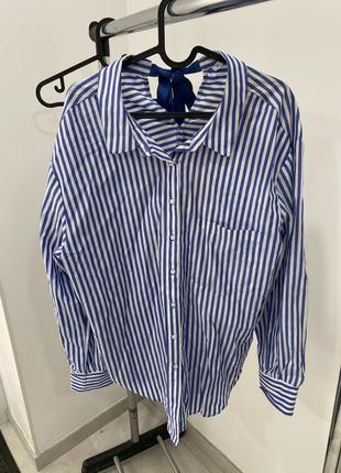 Рубашка oversize pull&bear