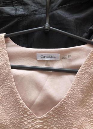 Calvin klein - изумительная блуза класса люкс. новая. р-р м