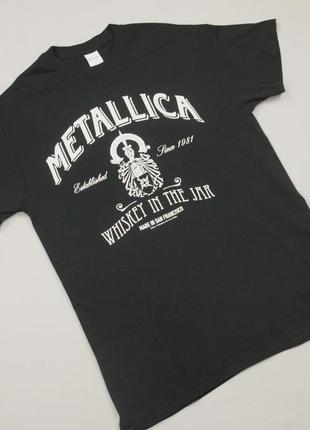 Футболка metallica whiskey in the jar официальный мерч metallica