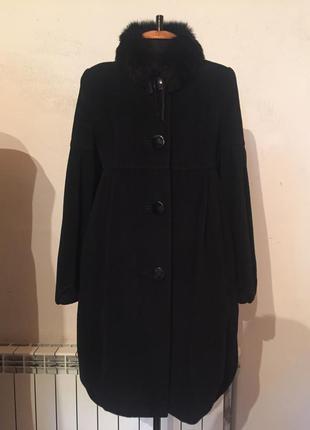 Зимнее пальто из кашемира