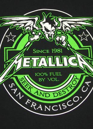 Футболка metallica seek and destroy официальный мерч metallica3 фото