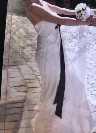 Сукня вечірня або шлюбна, італія2 фото