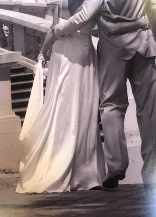 Сукня вечірня або шлюбна, італія3 фото