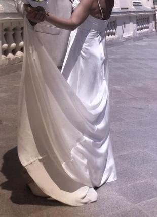 Сукня вечірня або шлюбна, італія4 фото