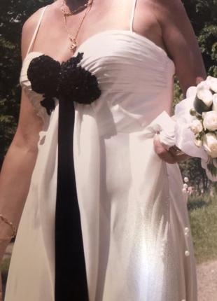 Сукня вечірня або шлюбна, італія6 фото