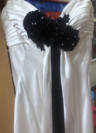 Сукня вечірня або шлюбна, італія8 фото