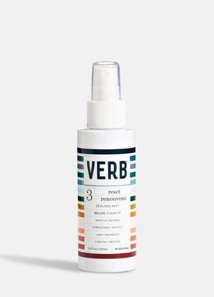 Спрей для волос verb reset sealing mist