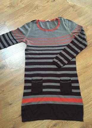 Promod платье трикотаж