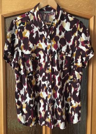 Блуза льяная