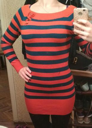Платье-свитерок осень/зима/весна