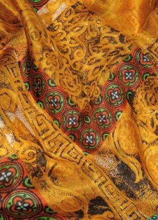 Большой платок мужской сочная расцветка