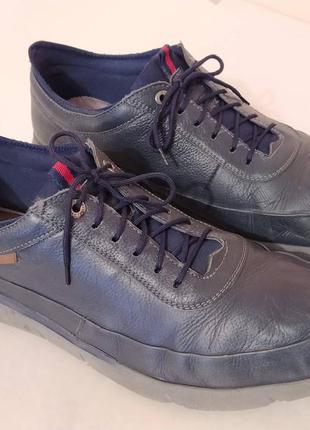 Чоловічі туфлі gо sоft 43 р, натуральна шкіра, легкі і зручні