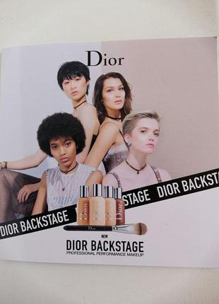 Тональный крем dior backstage face & body foundation пробник