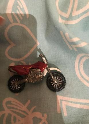 Игрушка мотоцикл металл