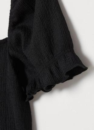 Черный топ h&m размер л//175/104а h&m3 фото
