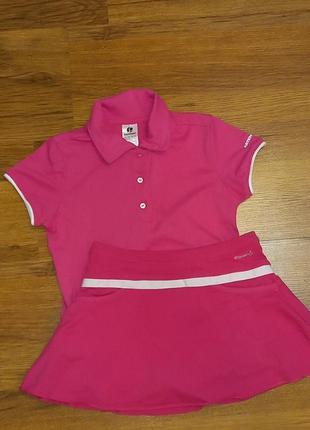 Тенісний костюм для дівчинки