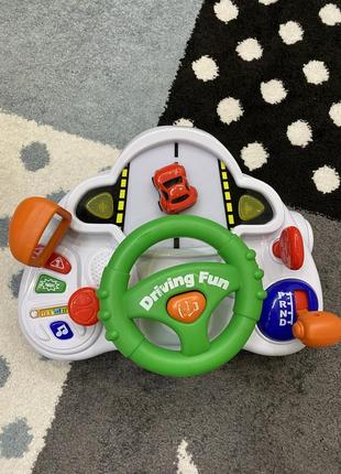 Автотренажер, розвивающая игрушка автоводитель keenway